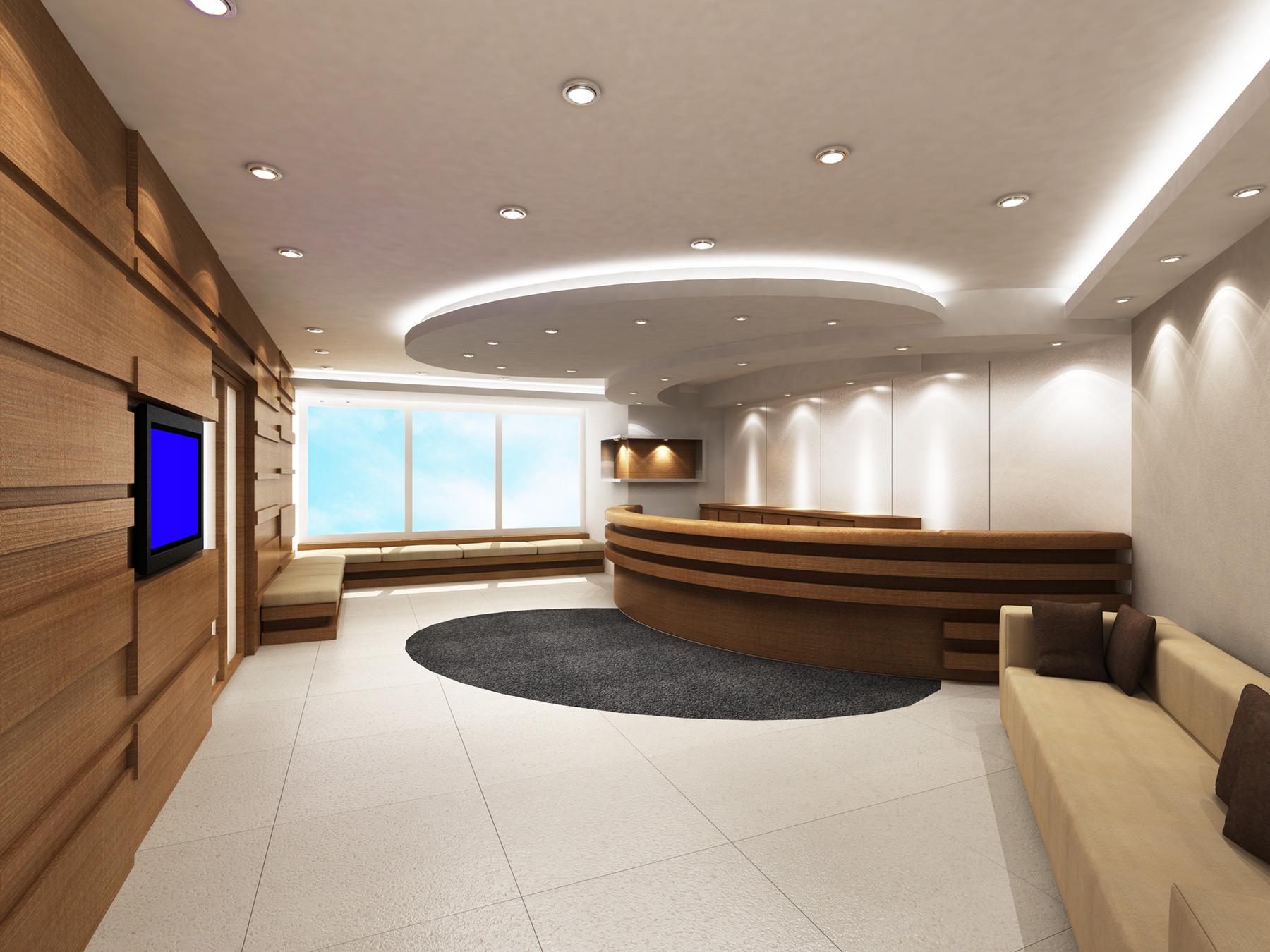 Arredamento ufficio roma la sala d 39 attesa sistema ufficio - Arredare ufficio idee ...