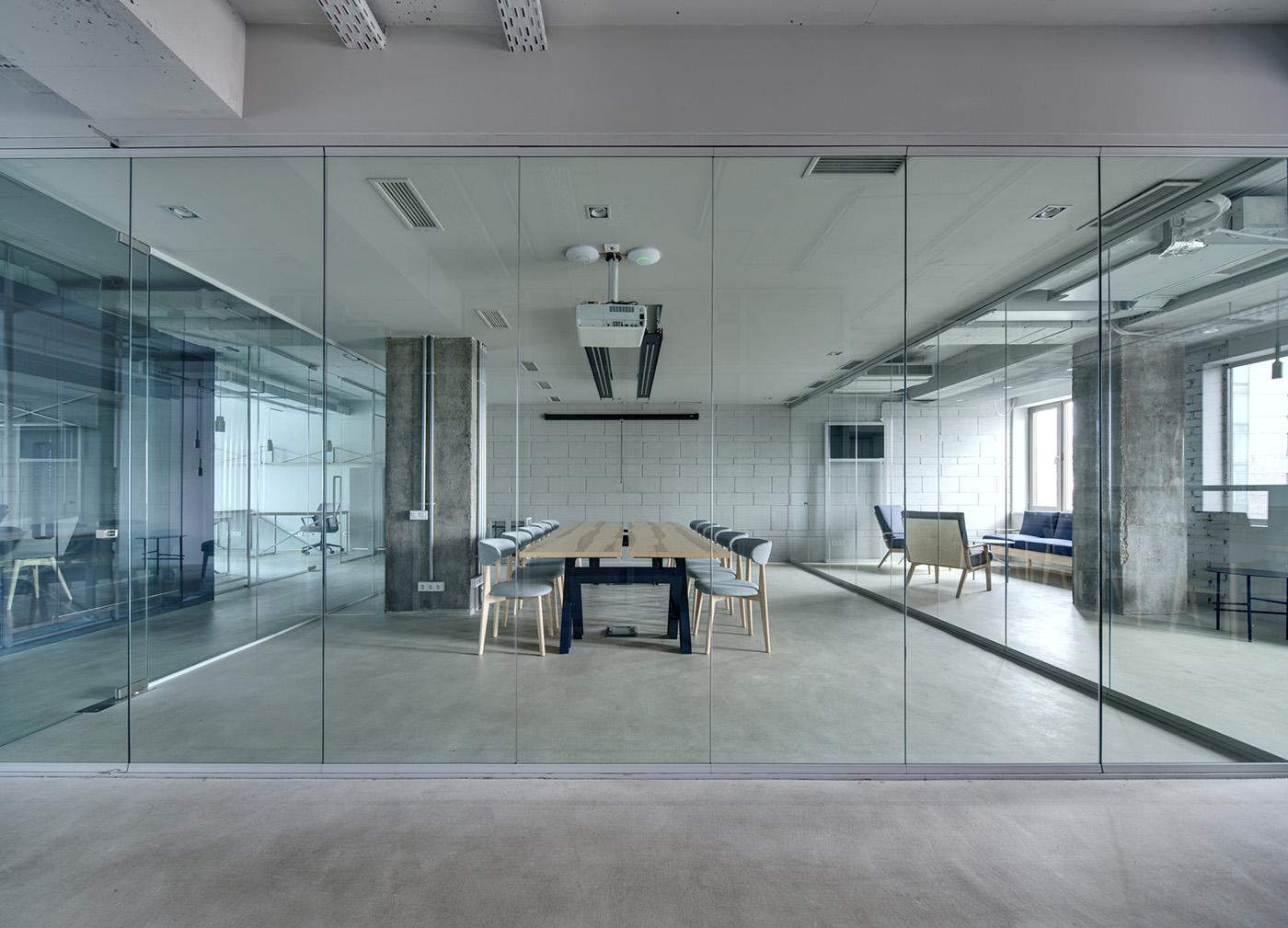 Pareti divisorie mobili per l'ufficio