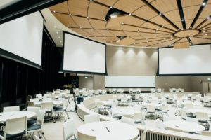 Come arredare una sala conferenze