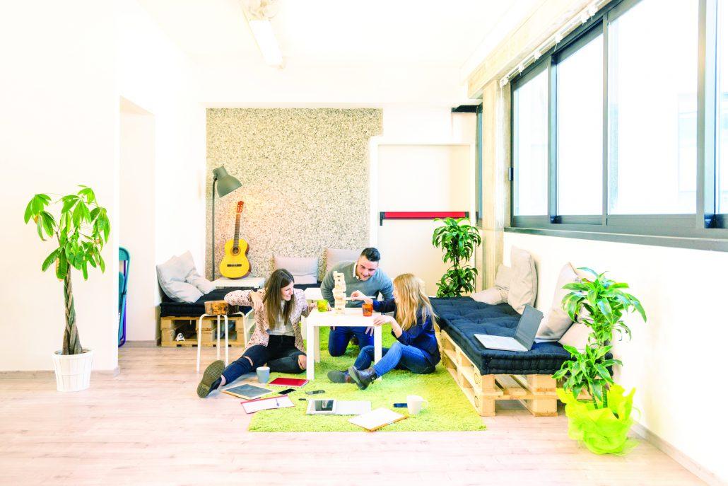 Organizzare la zona relax dell'ufficio
