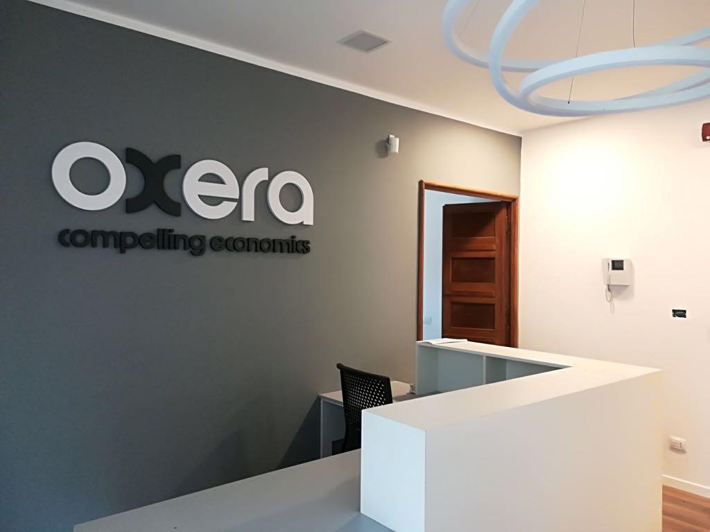 Restyling della sede di Oxera Consulting LLP di Roma