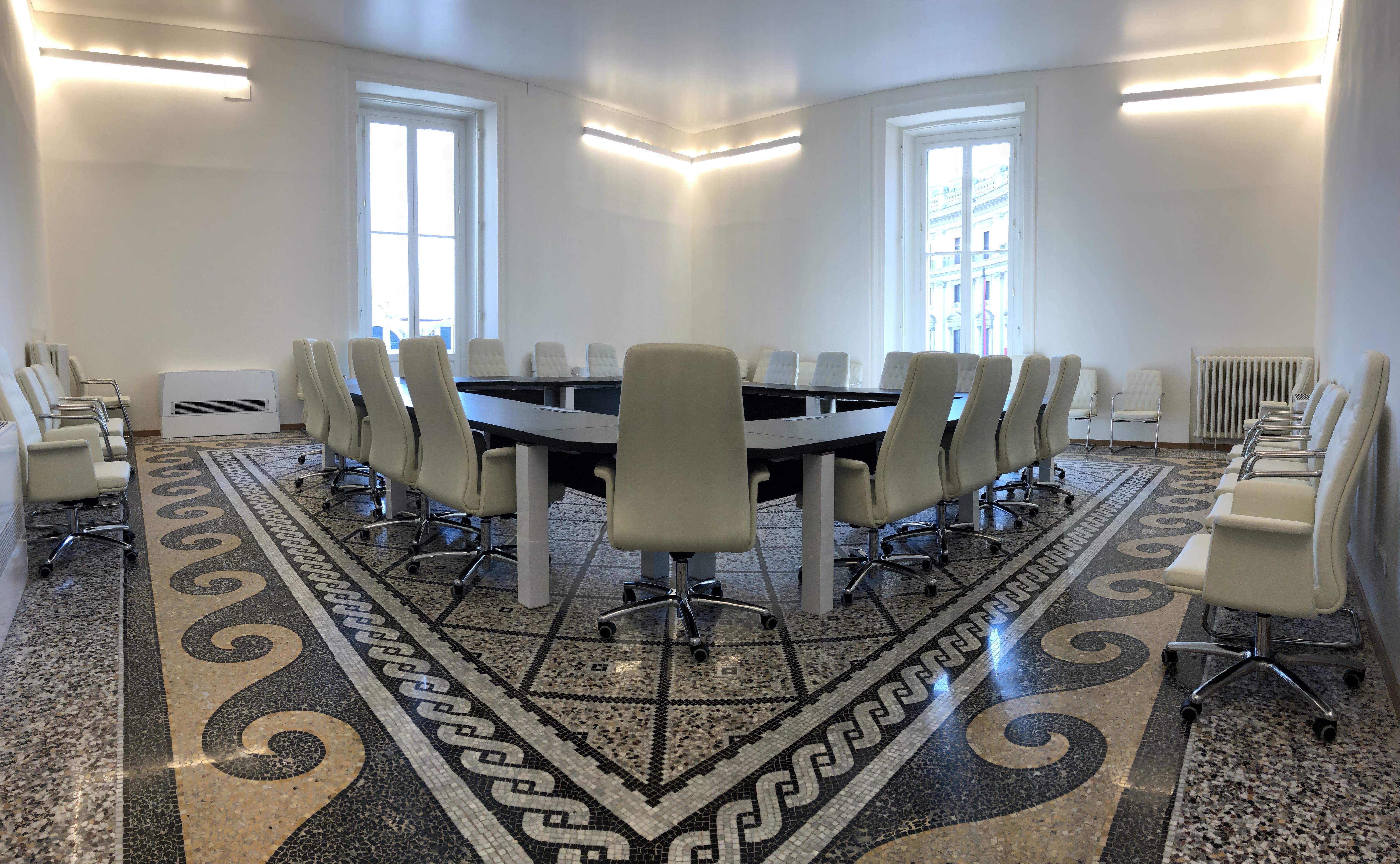 Nuova sede dell'Ispettorato del Lavoro – Sala conferenze e sala riunioni
